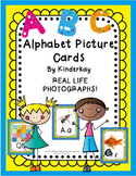 Alphabet Picture Cards - REALISTIC PHOTOGRAPHS Theme