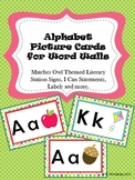 Alphabet Picture Cards for Word Walls