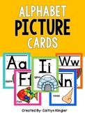 Alphabet Picture Cards (w/ lines)
