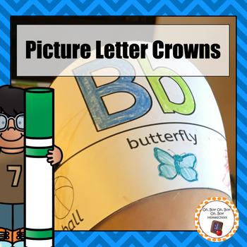Alphabet Picture Crowns