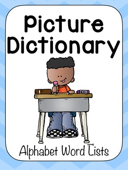 Alphabet Picture Dictionary