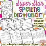 BUNDLE Alphabet Picture Dry Erase Word Wall & Spelling Dictionary