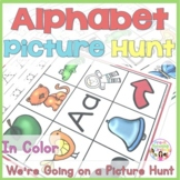Alphabet Picture Hunt - Beginning Letter/Sounds Activities