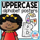 Alphabet Uppercase Posters
