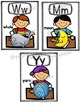 Alphabet Picture Posters Featuring School Kids