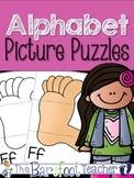 Alphabet Picture Puzzles