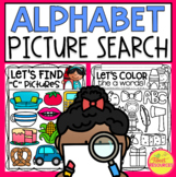 Alphabet Picture Search Puzzles A-Z
