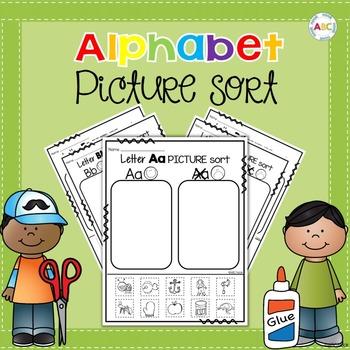 Alphabet Picture Sort