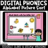 Alphabet Picture Sort Digital Phonics Activities | Distanc
