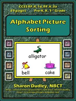 Alphabet Picture Sorting