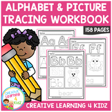 Alphabet & Picture Tracing Workbook