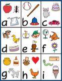 Alphabet Pictures Clip Art: 156 Color/BW Images / FREEBIE!!!