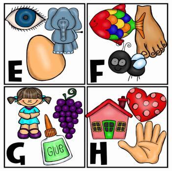 Alphabet Pictures Clip Art Mega Bundle {Educlips Clipart}