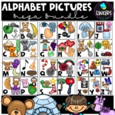 Alphabet Pictures Clip Art Mega Bundle {Educlips Clipart}