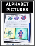 Alphabet Pictures - Creative Printing and Drawing Outside the Box