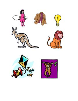 Alphabet Pictures For Beginning Consonants
