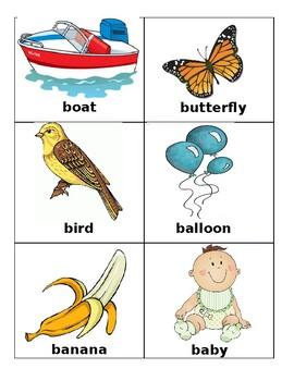 Alphabet Pictures Sort Activity