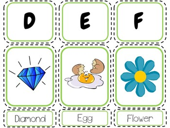 Alphabet Pictures and Words