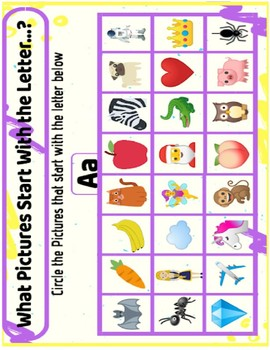 Alphabet Pictures by Education Fun Guide