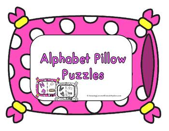 Alphabet Pillow Puzzles