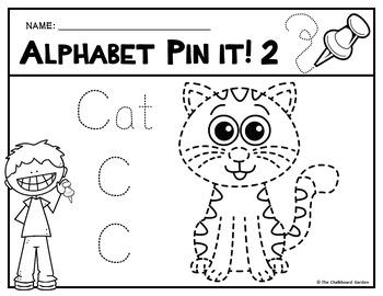 Alphabet Pin It! Pictures