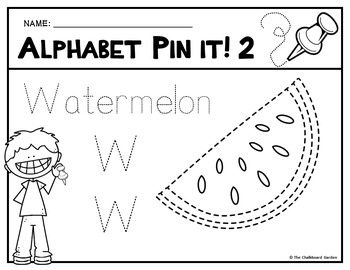 Alphabet Pin It! Pictures
