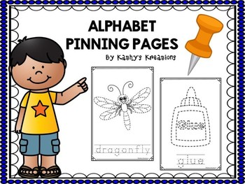 Alphabet Pinning Pages