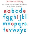 Alphabet Plastic Magnetic Letter Matching Mat