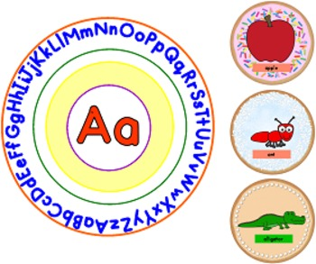 Alphabet Plates Cookies and Milk Matching Cards (Commom Core)