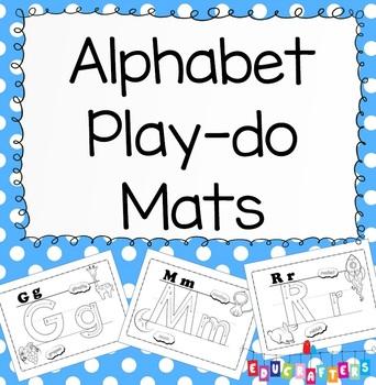 Alphabet Play-Do Mats