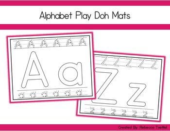Play Doh Mats: Alphabet Practice