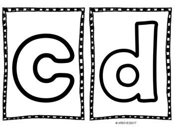 Alphabet Play-Doh Mats {A-Z/a-z}