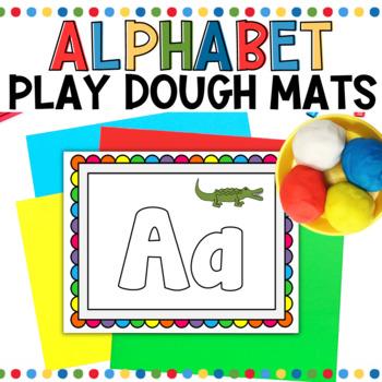 Alphabet Play-Doh Mats LARGE
