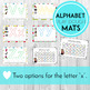 Alphabet Play Doh Mats with Writing Practice