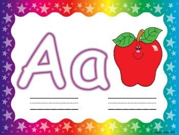 Alphabet Play-Doh or Dry Erase Mats