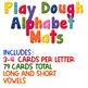 Alphabet Play Dough Cards - Center or Word Work Activity
