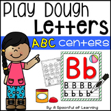 Alphabet Play Dough Letters