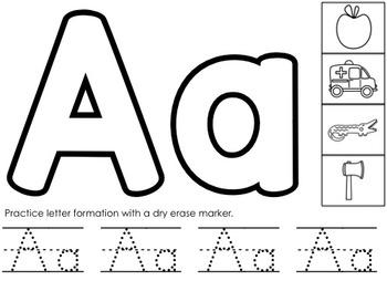 Alphabet Play Dough Mats | Letter Sounds Playdough Mats