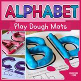 Alphabet Activities, Alphabet Play dough Mats