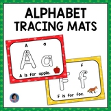 Learn the Alphabet: Tracing Worksheets and Mats Google Sli