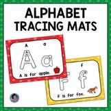 Learn the Alphabet: Tracing Worksheets and Mats Google Slides + Printable {ESL}