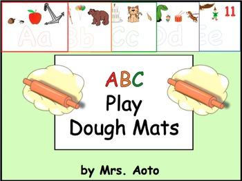 ABC Play Dough Mats (A-Z)