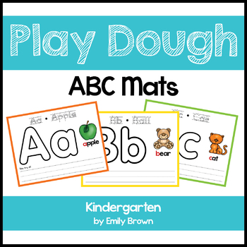 Alphabet Play Dough Mats / ABC Mats