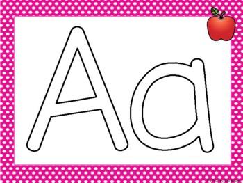 Alphabet Play Dough Mats - A to Z