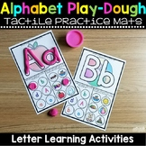 Alphabet Play Dough Mats Activities
