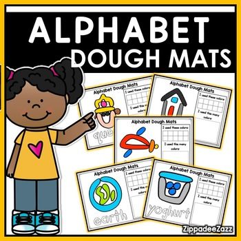 Alphabet Play Dough Mats Activities