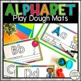Alphabet Play Dough Mats - Letter Writing Practice