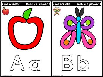 Alphabet Play Dough Mats Letters : Fine Motor Skill Activities