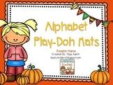 Alphabet Play Dough Mats-Pumpkin Theme