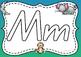 Alphabet Play Dough Mats ~ QLD Font